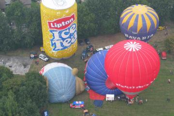 Eindhoven ballooning Lipton ice special shape luchtballon